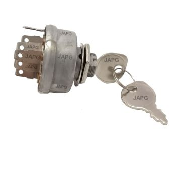 Ignition Switch & Keys, Murray Ride on Mower Part 92556, 092556, 092556MA, MU92556, 5412H, BS54124